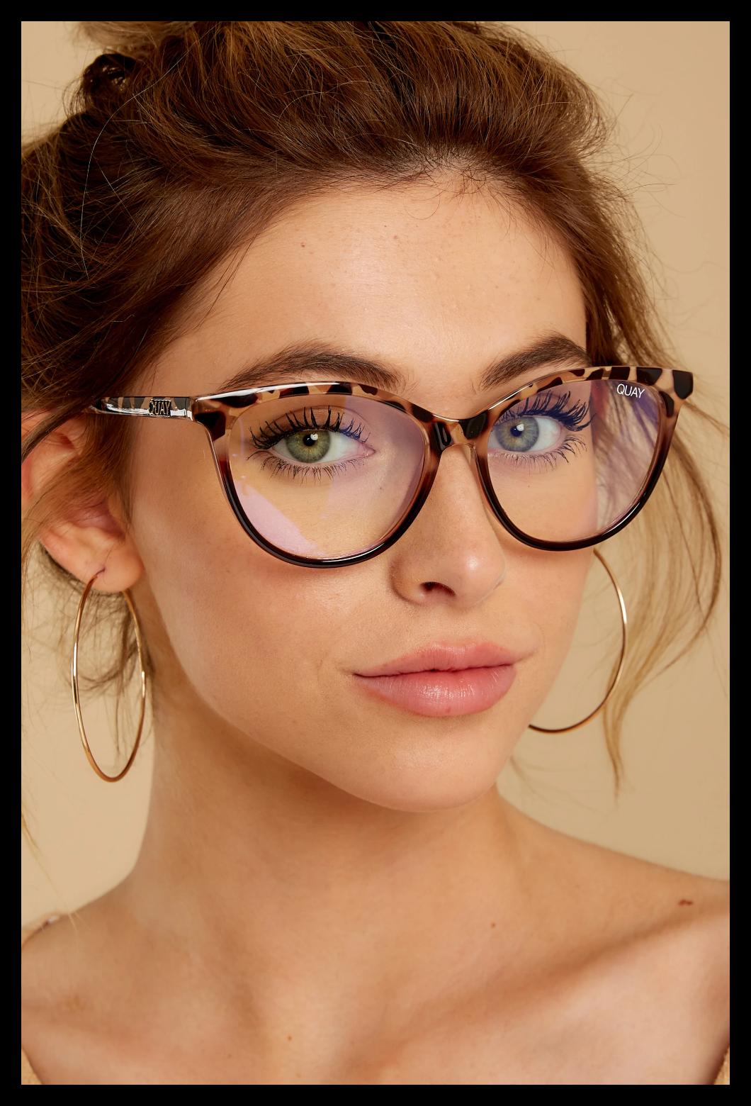 Photo of fashion eyeglasses clear