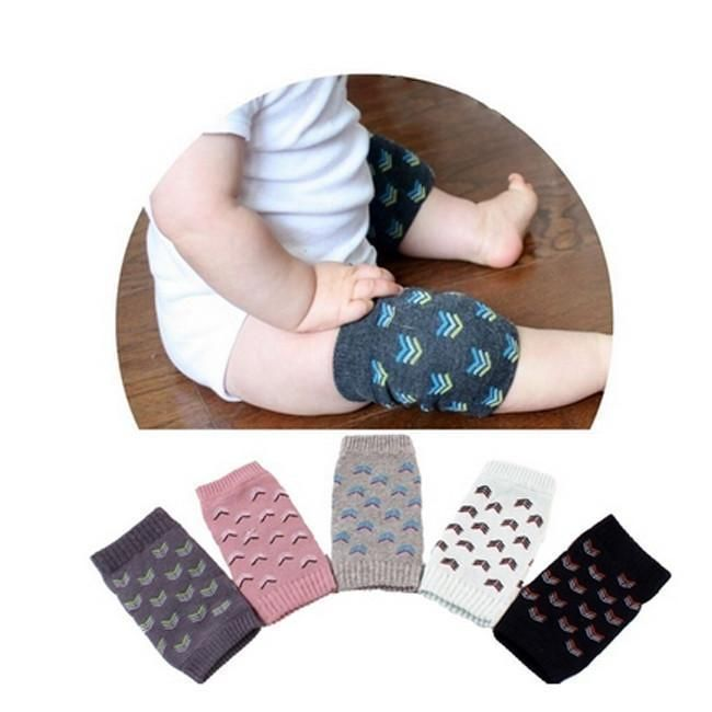 Safety Crawling Knee Elbow Pads Leg Protector Anti-Slip for Infant Toddler 4Pair