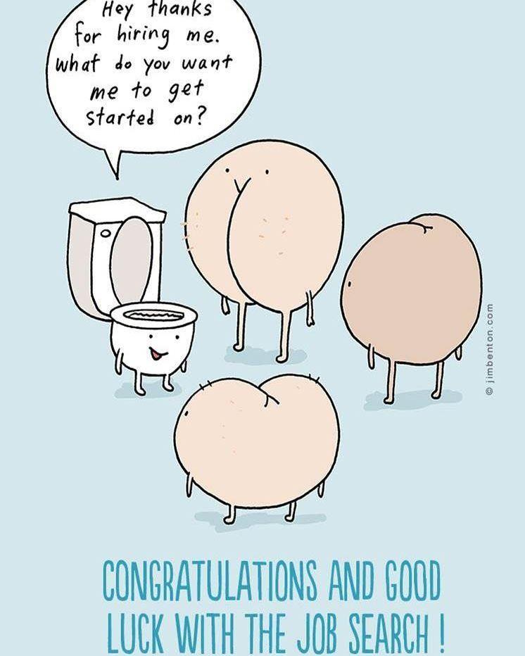 Смешные картинки удачи на работе