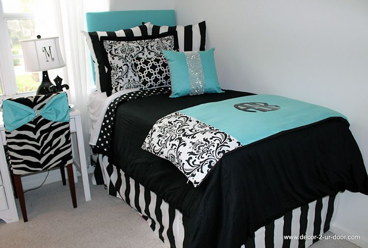 Best Tiffany Blue Designer Dorm Bedding Set Bedroom Ideas 400 x 300
