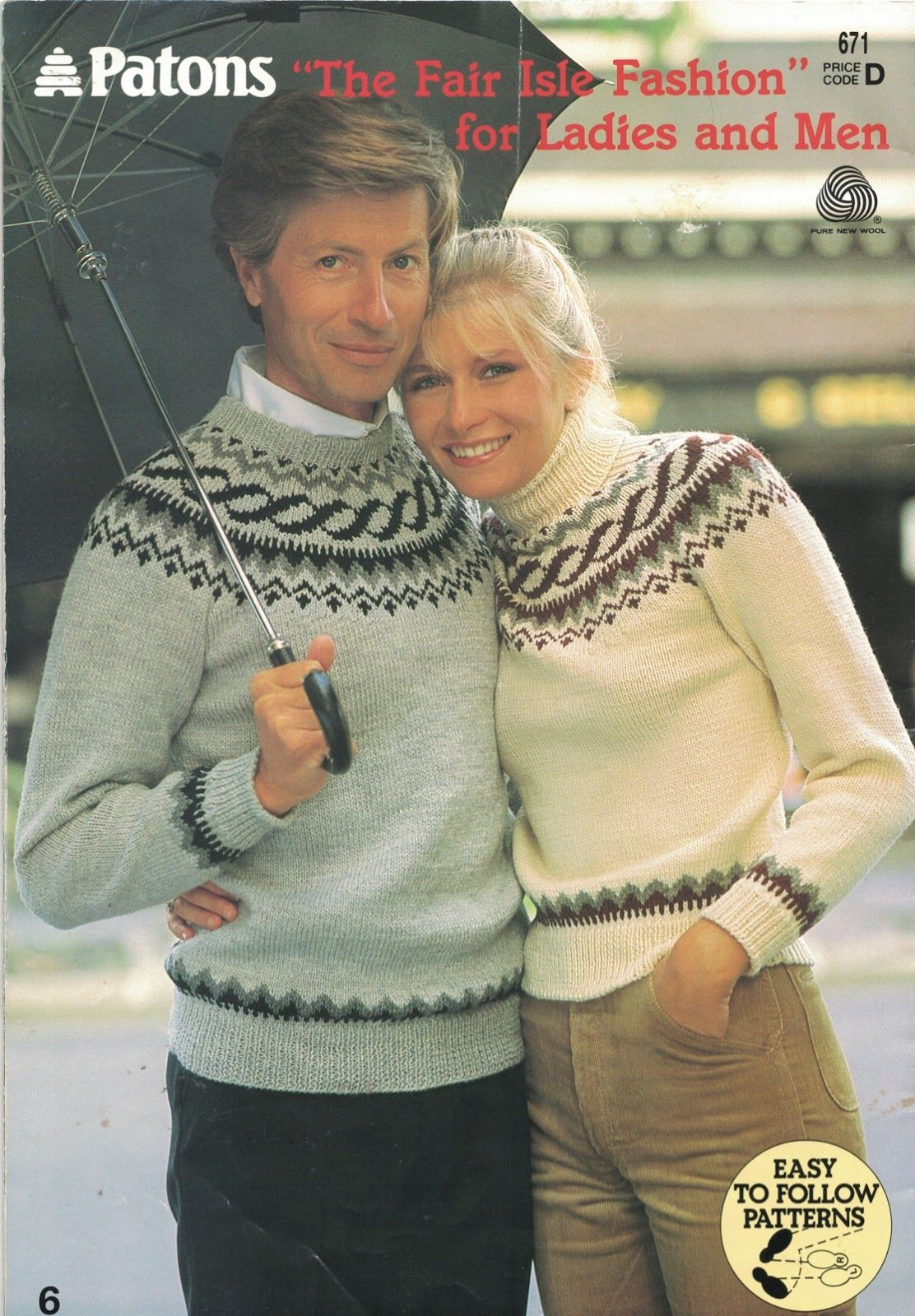 The vintage pattern files free 1980s knitting pattern patons no the vintage pattern files free 1980s knitting pattern patons no 671 fair isle bankloansurffo Gallery