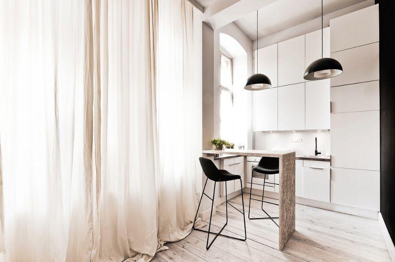 Квартира с мезонином площадью 29 кв.м в Польше   Про дизайн Сайт о дизайне интерьера, архитектура, красивые интерьеры, декор, стилевые направления в интерьере, интересные идеи и хэндмейд