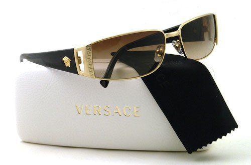 7f8e1d0a5f4 Versace VE2021 Sunglasses-1002/13 Gold (Brown Gradient Lens)-60mm Versace
