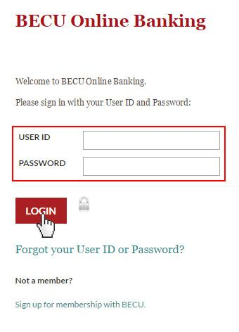 Becu Login Www Becu Org Online Banking Login