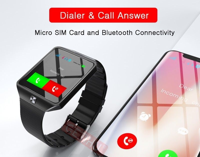 Discount !! GETIHU Smart Watch Men For Apple Android