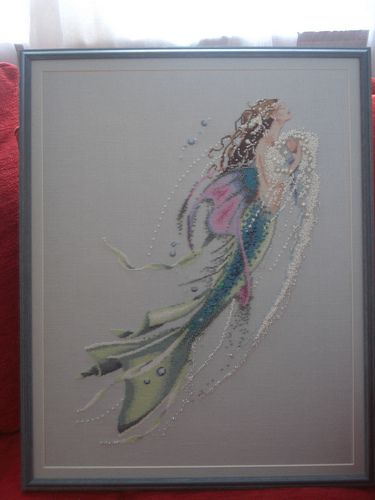 Mirabilia mermaid cross stitch | Pinterest | Meerjungfrauen