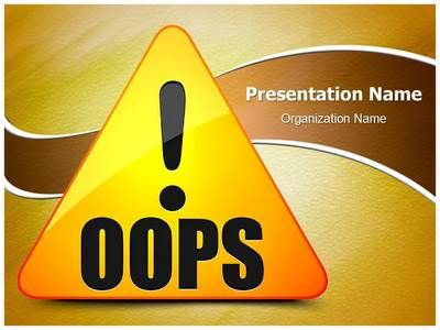 Check out our professionally designed oops error ppt template check out our professionally designed oops error ppt template download our oops error powerpoint presentation toneelgroepblik Images