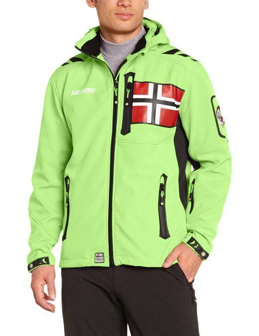 Geographical Norway - Softshell Jacke Geographical Norway Rova Grün - Size S: Amazon.de: Sport & Freizeit