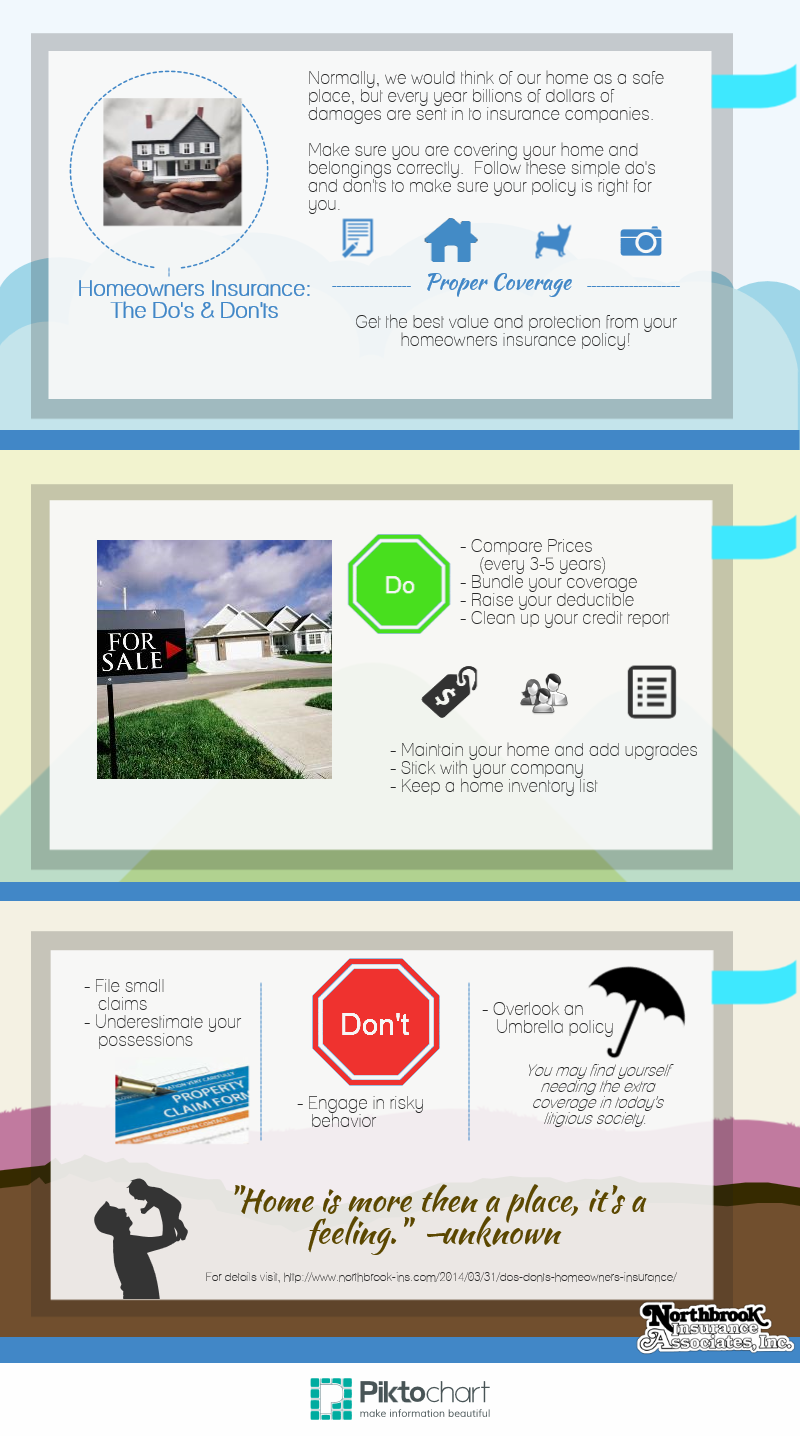 Some simple do's and don'ts for all homeowners. Make sure