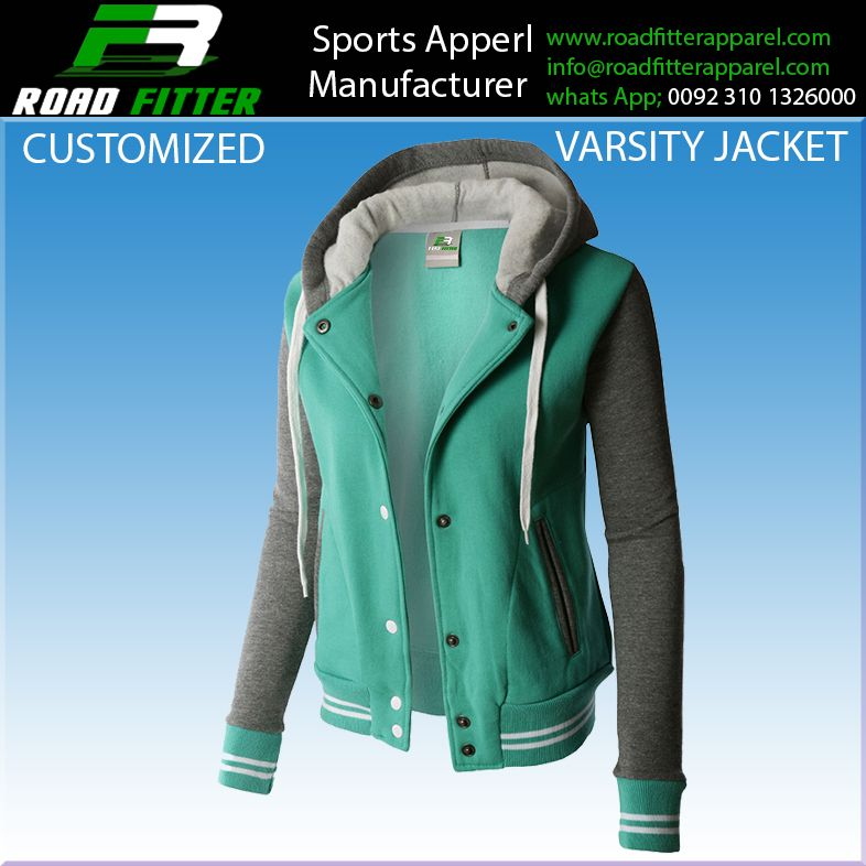Customized Varsity jacket / baseball Varsity jackets / Letterman jackets  wool body leather sleeves