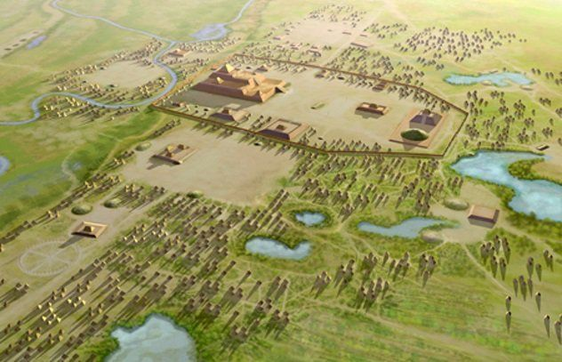 Cahokia Largest Pre Colombian City In The Mississippi Valley Near St Louis It Lasted From About Ad 700 To 1300 Cahokia Colombian Cities City
