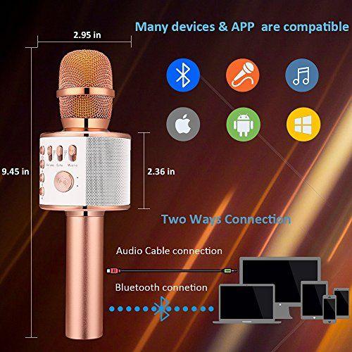 Top 10 Karaoke Microphones For Iphone of 2020 Wireless