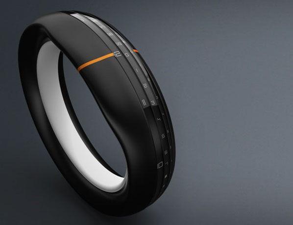 Concept Wrisch Bracelet Round The Clock Future Technology