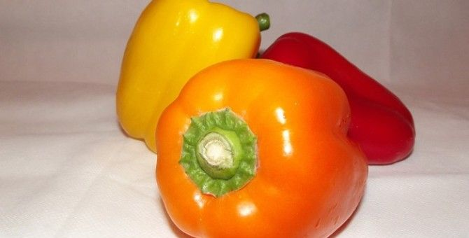 Red Bell Pepper Keeps Your Skin Younger