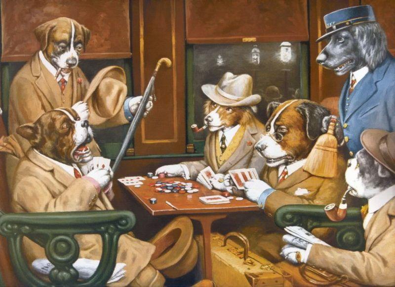 собачий покер