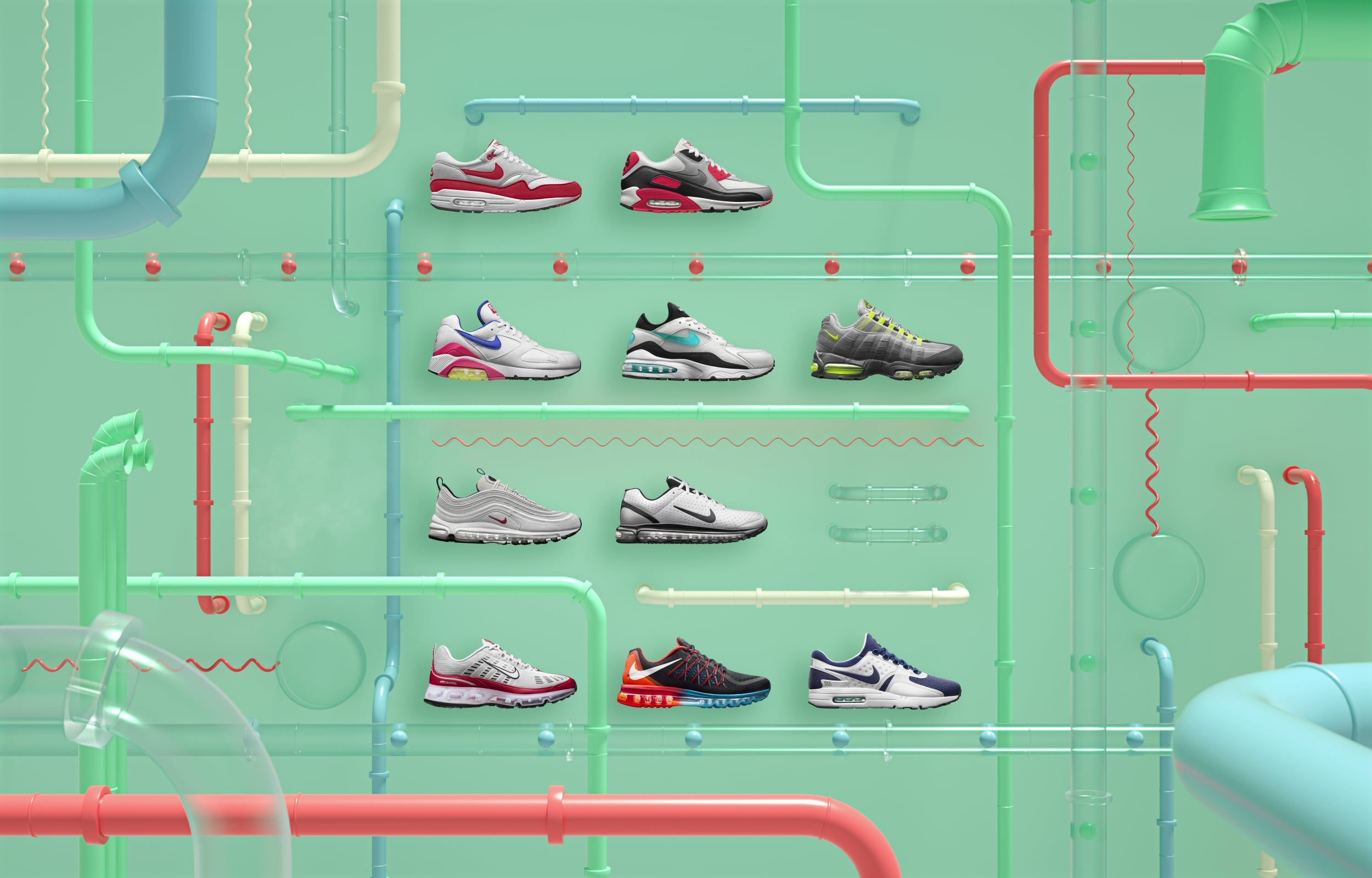 Air Max Day 2016 Genealogy Timeline | Air max day, Nike