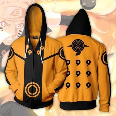Naruto Hoodie Coat Sweatshirts Akatsuki Sasuke O Brien 3D Zipper Hoodies  Pullovers Men Women Long Sleeve Outerwear Sweatshirts 4cbba5d7a