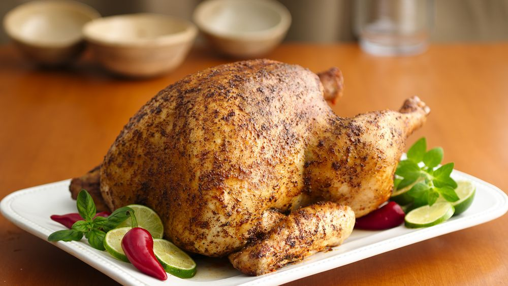 Oven-Roasted Spice-Rubbed Turkey