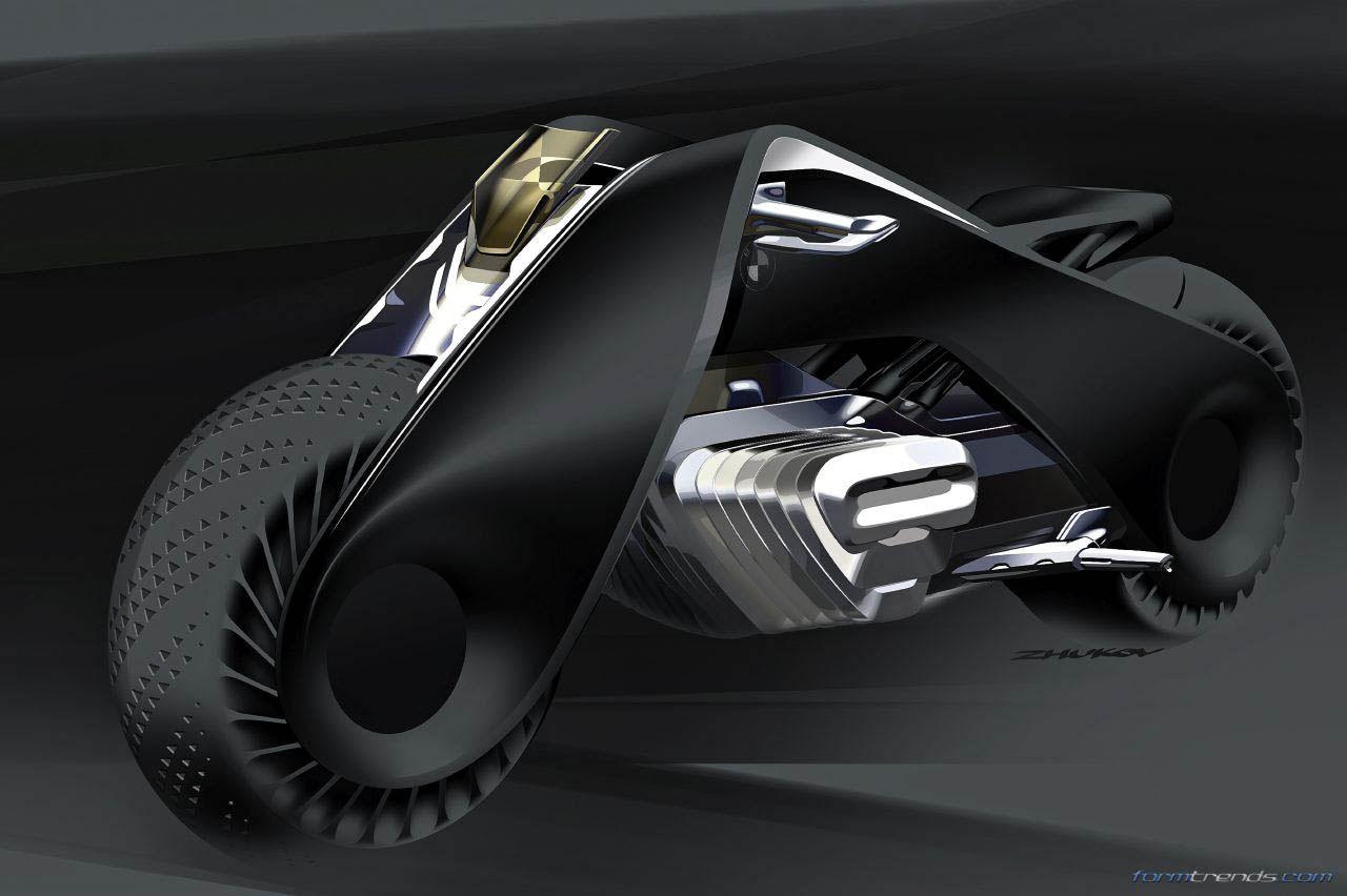 Bmw Motorrad Design Director On The Vision Next 100 Concept