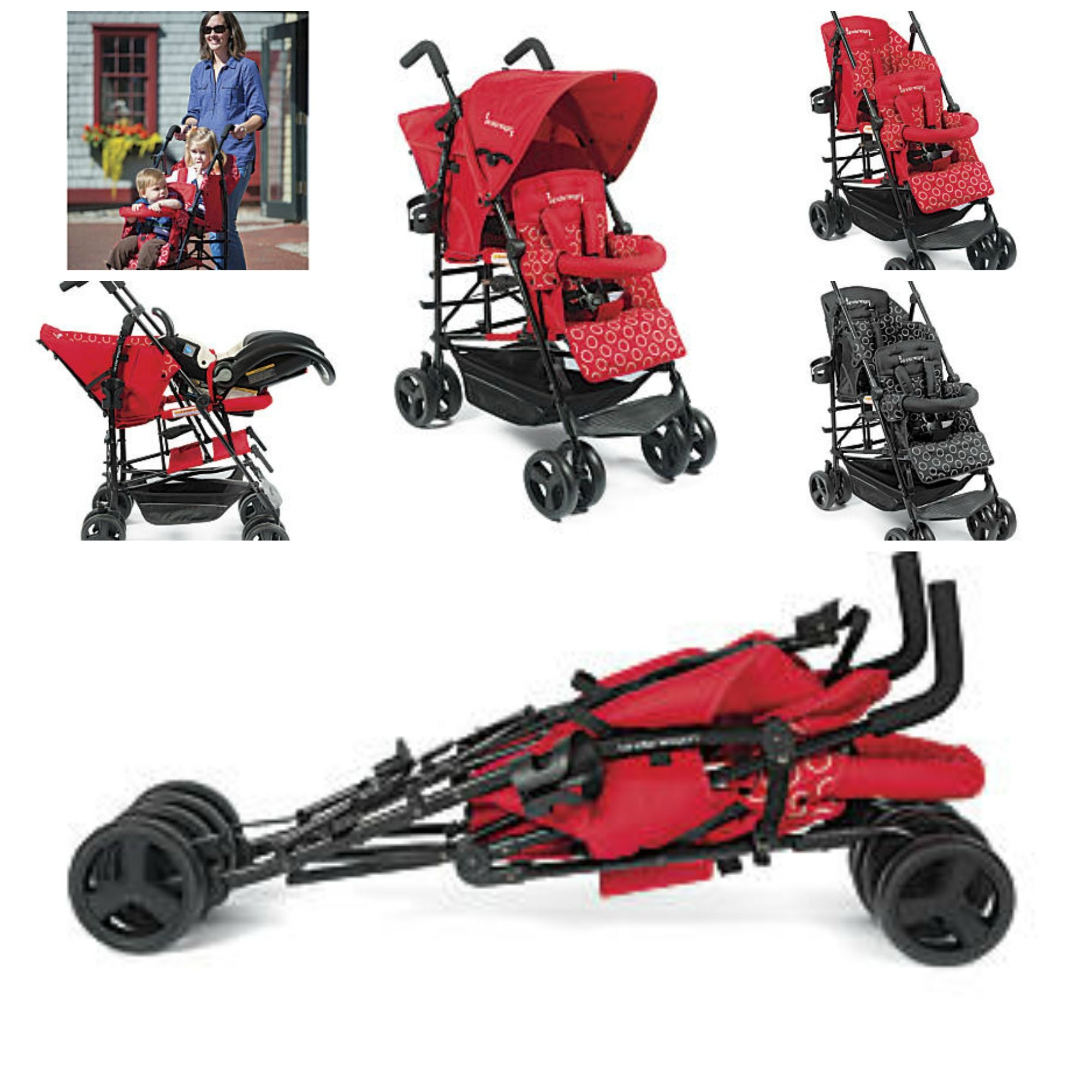 Hop Tandem Umbrella Stroller: Every parent of two needs a compact ...