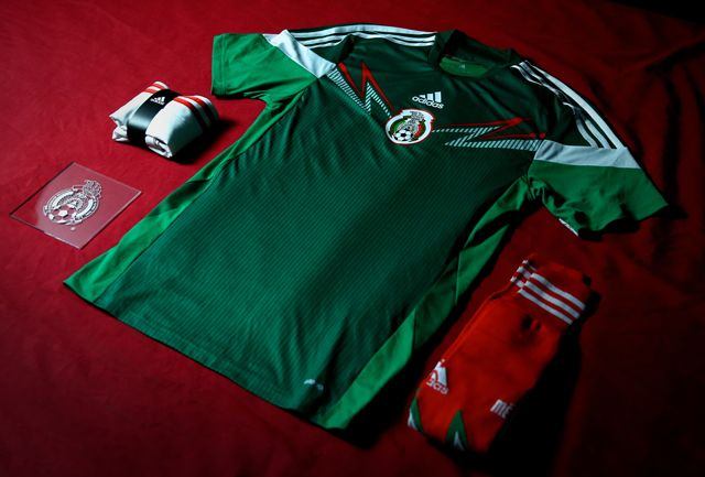 0c2d2c49c adidas Mexico 2014 World Cup Home Kit