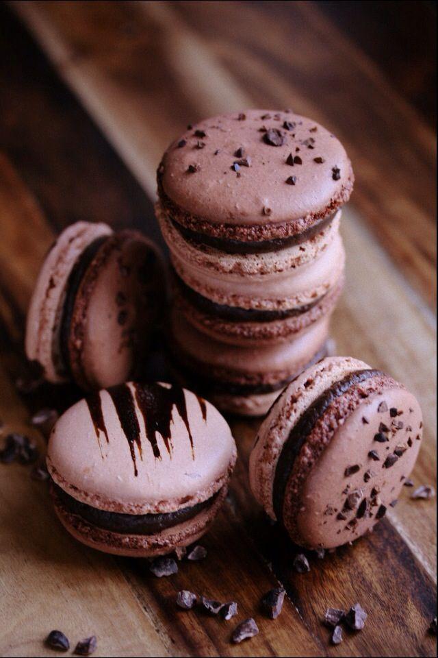 Mocha Macarons (by SweetAlmond)