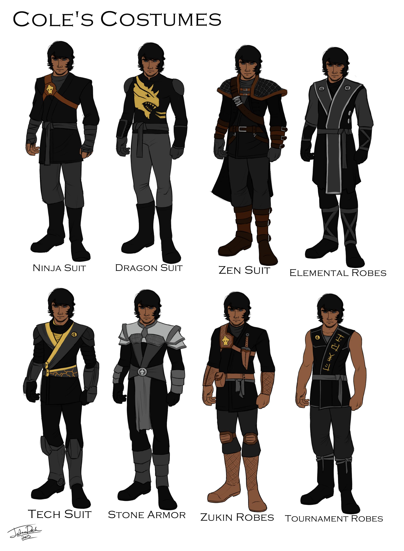 Cole\u0027s costume design by joshuad17.deviantart.com on @DeviantArt