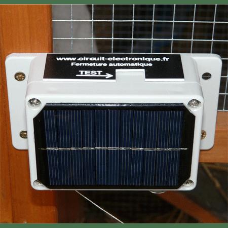 Kit de fermeture automatique pour poulailler avec mini groom pour porte traditionnelle projet - Groom pour porte ...