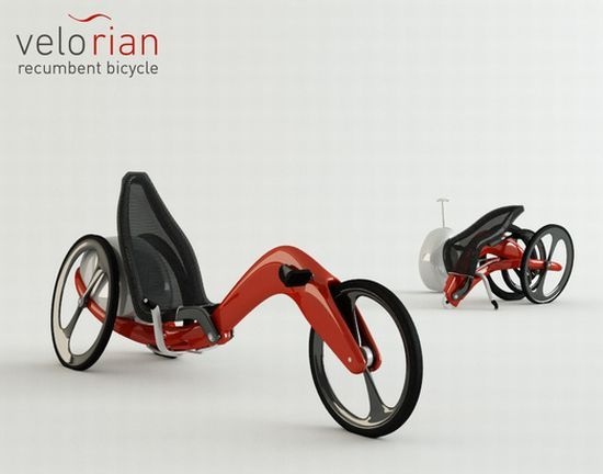 Velorian Recumbent Trike Folds For Easy Storage And Transportation