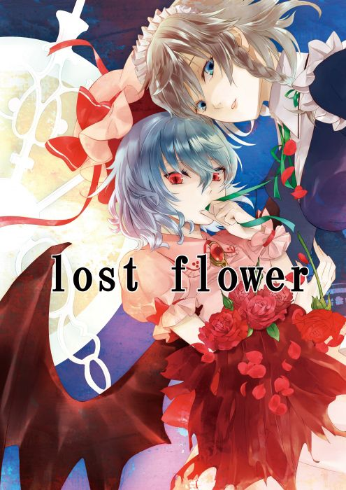 remilia and sakuya on a doujinshi cover remilia looks pretty intense 東方 かわいい イラスト 東方プロジェクト