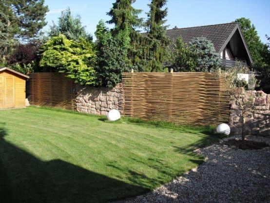 23 Ideas económicas (y sencillitas) para la cerca del jardín - cercas para jardin