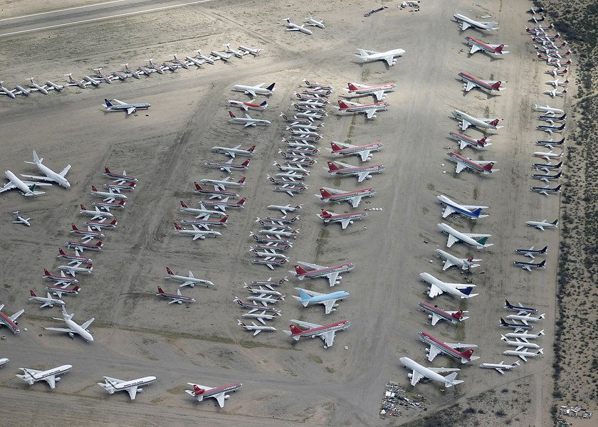 Marana Airplane Graveyard Tours