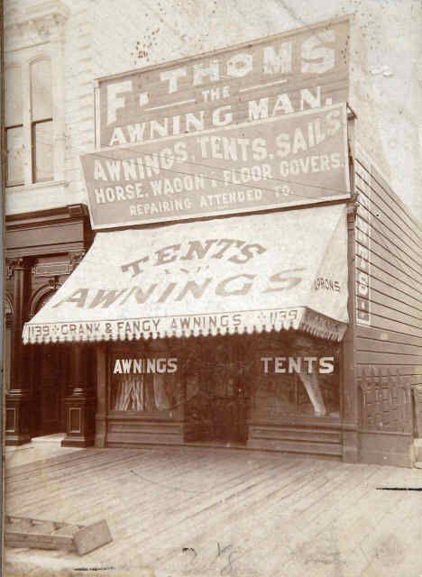 F Thoms The Awning Man Tienda De Toldos En San Francisco Mission