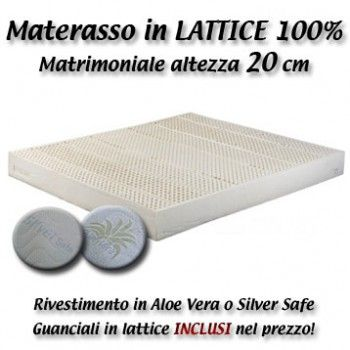 Materasso Matrimoniale Lattice 100 Altezza 20 Cm Soap Dishes The 100