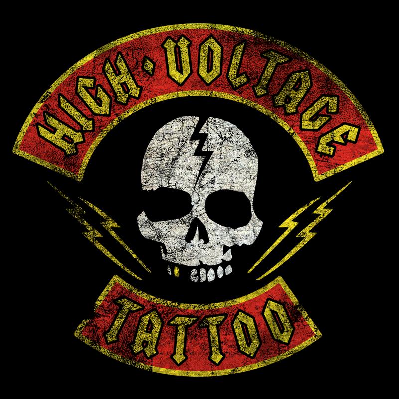 Large shirt High Voltage Tattoo Store / Brigade Mens T-Shirt ...