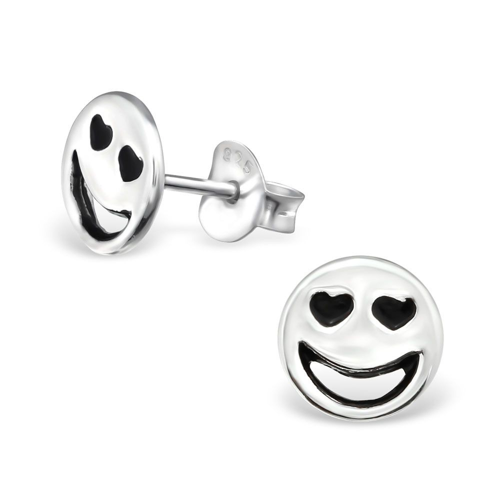 metallic stud new urban nwt outfitters set brand pin emoji earring