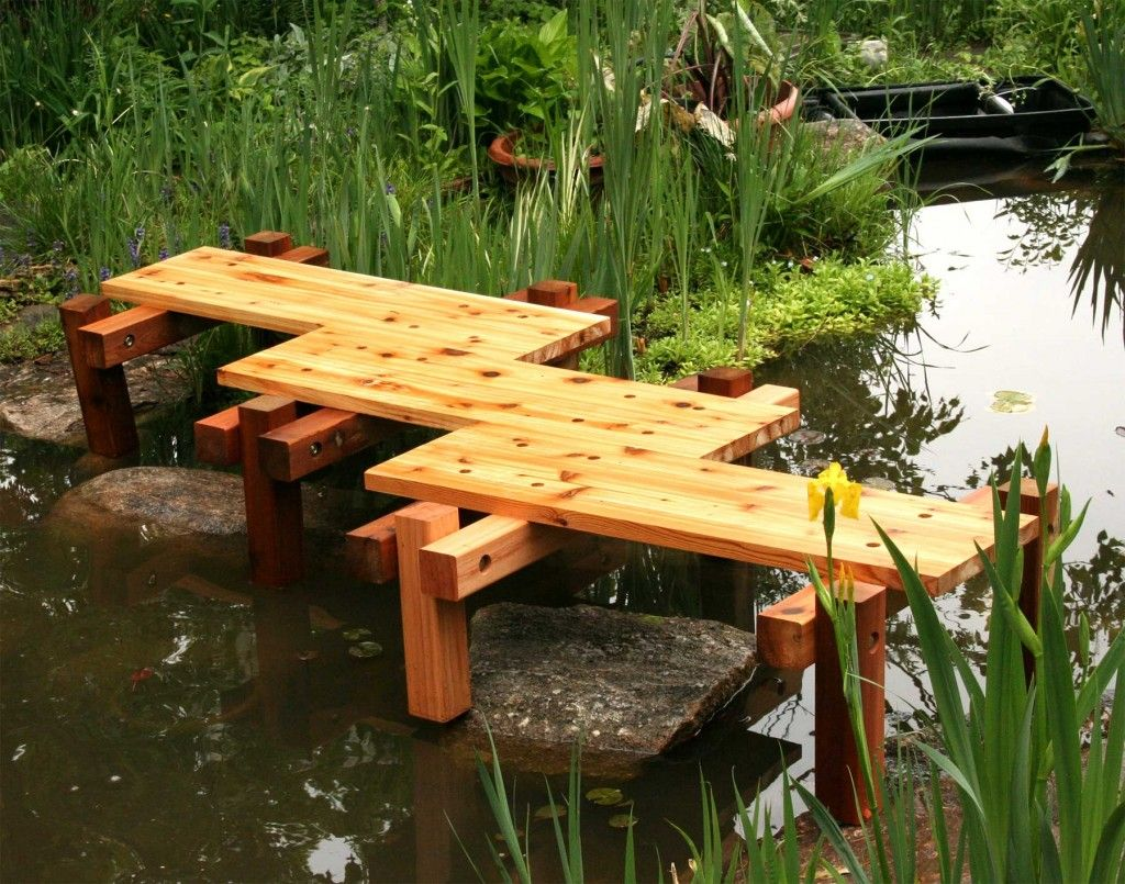 25 stunning garden bridge design ideas - Japanese Wooden Garden Bridge