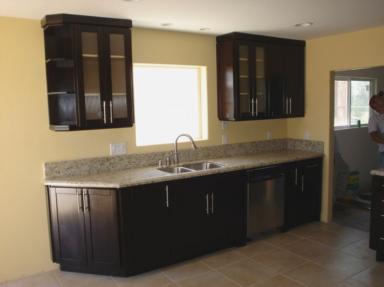 Painting Kitchen Cabinets Dark Brown more picture Painting ...