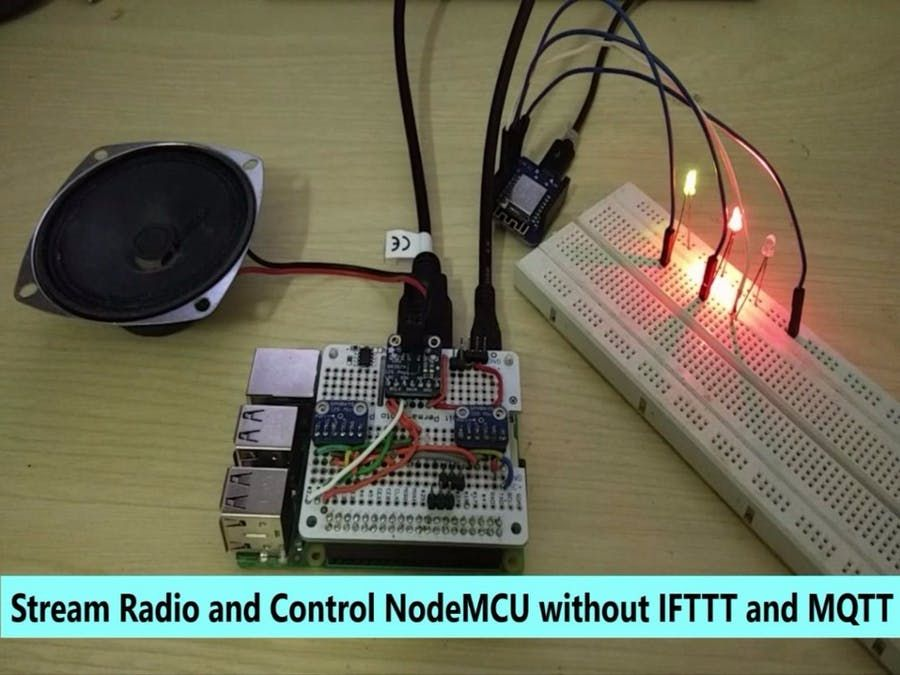 Control NodeMCU Using Google Assistant on Pi Without IFTTT