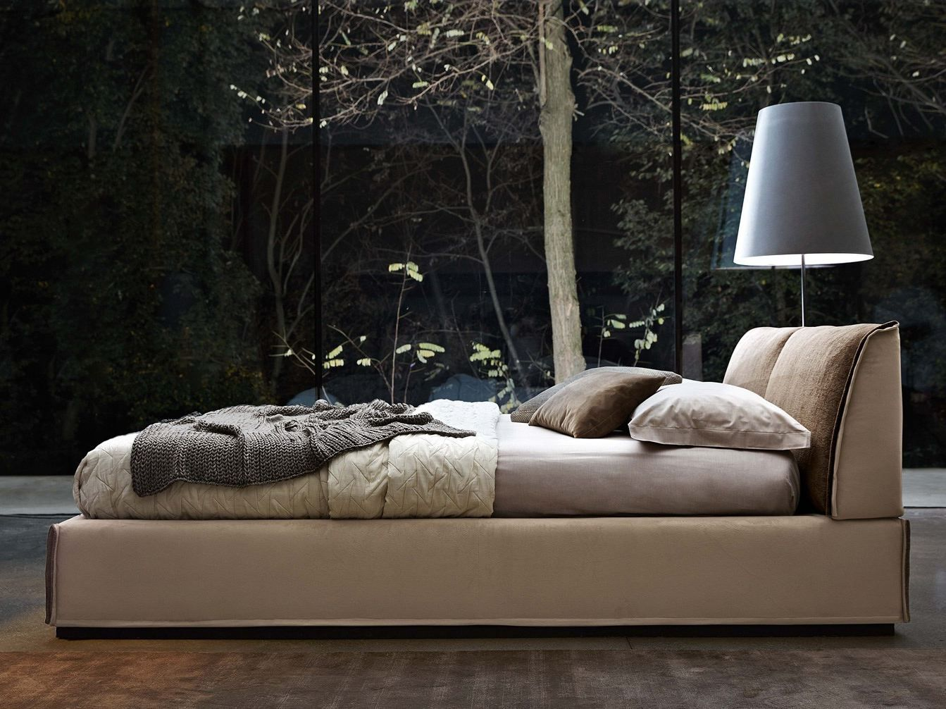 Gut MONOLITH Кровать By Ditre Italia дизайн Daniele Lo Scalzo Moscheri