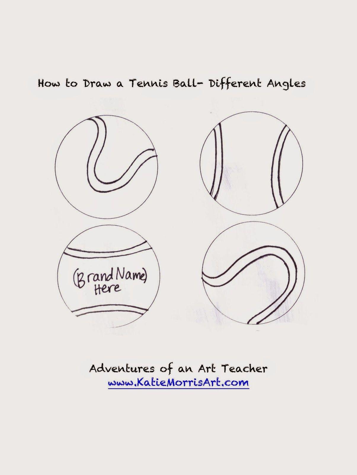 Adventures Of An Art Teacher Tennis Ball