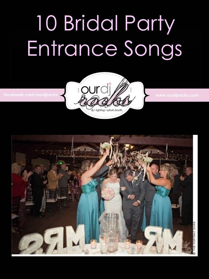 Wedding Songs Reception Entrance Bridal Party For Your