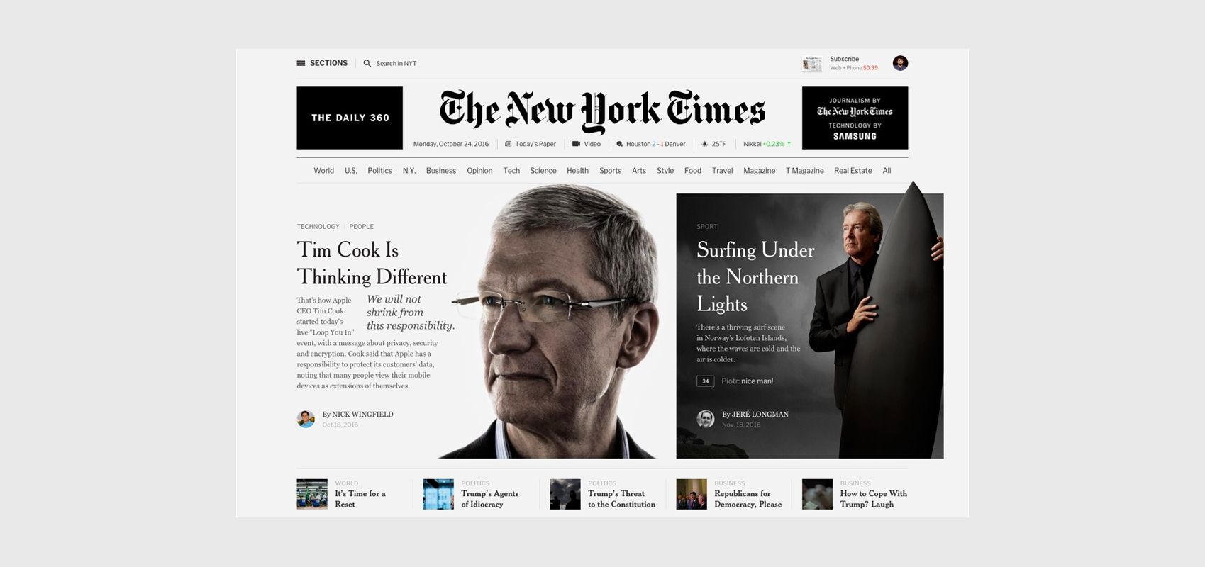 Editorial Design The New York Times Redesign Concept Archives Editorial Design New York Times Health Magazine Design