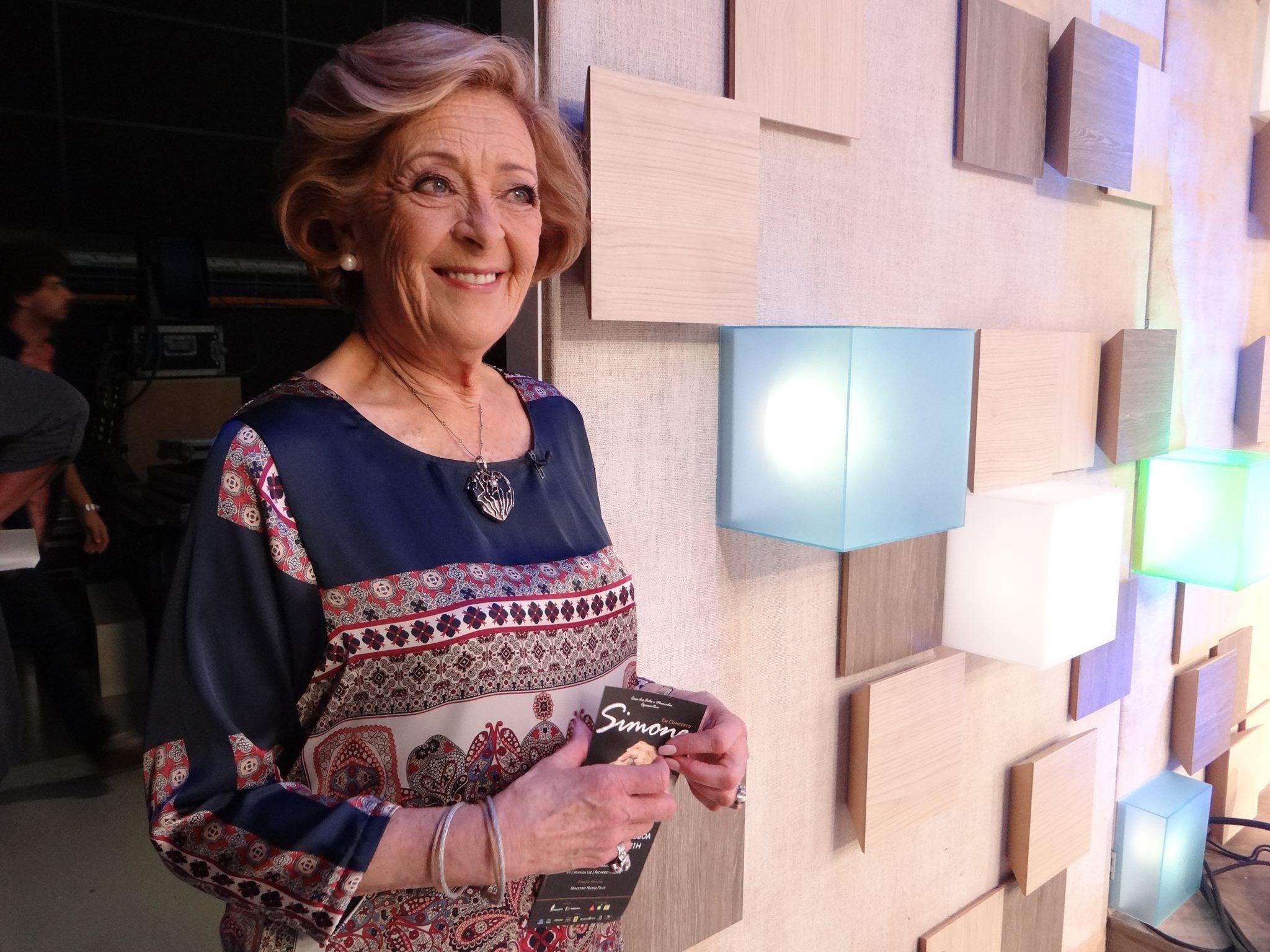 """Simone de Oliveira é uma artista com um percurso brilhante e para comemorar os seus 58 anos de carreira está a preparar o """"Em Concerto""""."""