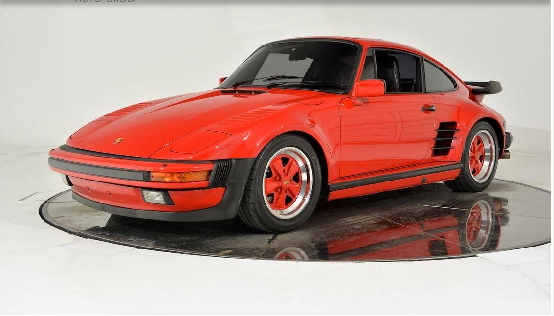 1988 PORSCHE 911 TURBO SLANTNOSE