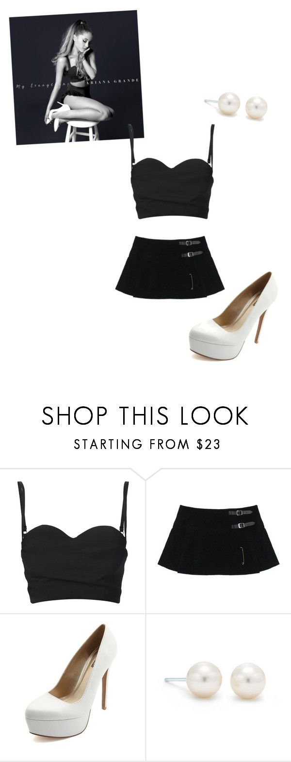"""Ariana Grande 2"" by abbybeaumont ❤ liked on Polyvore featuring Acne Studios, Charlotte Russe and Tiffany & Co."