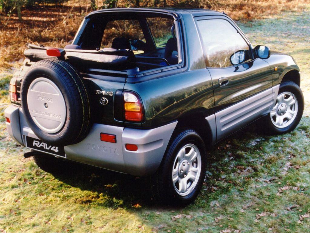 Toyota Rav4 Convertible Avtomobili Dzhip
