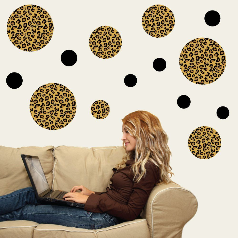 Animal Wall Decal Print for Bedroom Cow Spot Animal Wall Stickers Cow Print a01