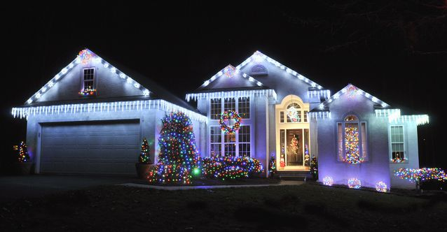 Christmas House Displays Google Search Pinterest