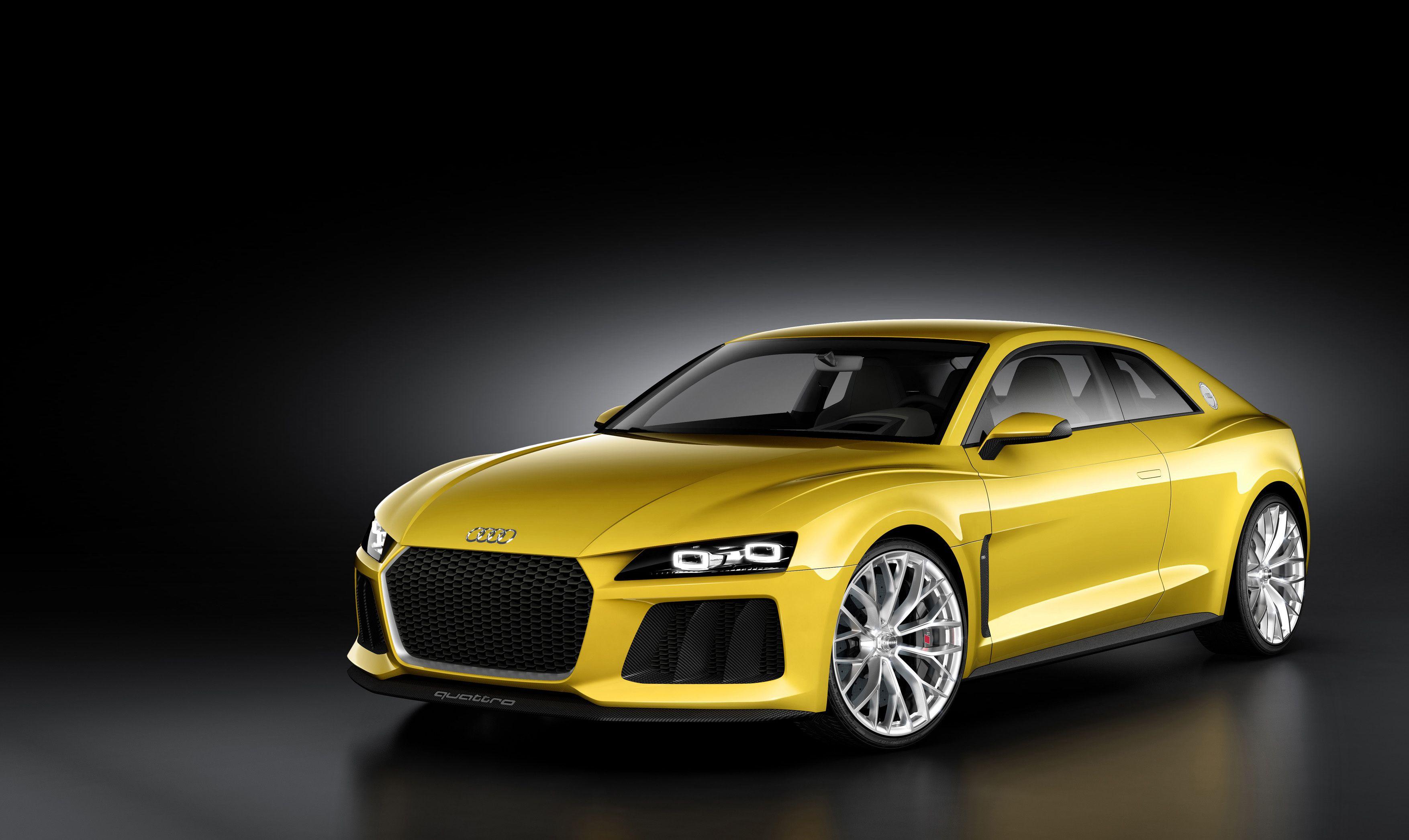 Audi Sport Quattro Concept La Coupe Ibrida Plug In Da 700 Cv Da